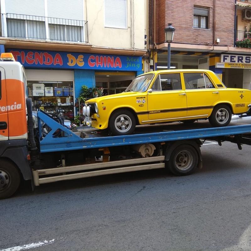 Servicios asistencia: servicios y vehiculos de Virolla