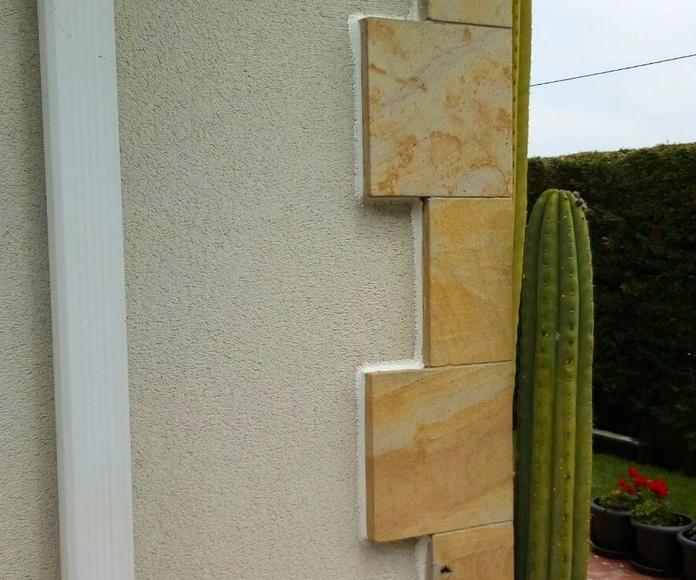 Corcho para fachadas revestimiento térmico en Santander: Trabajos verticales Santander  de Trabajos Verticales Cantabria