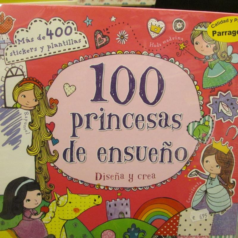 100 PRINCESAS DE ENSUEÑO: DISEÑA Y CREA