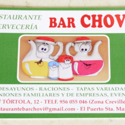 Restaurantes para celebraciones en El Puerto de Santa María | Restaurante Bar Chovi