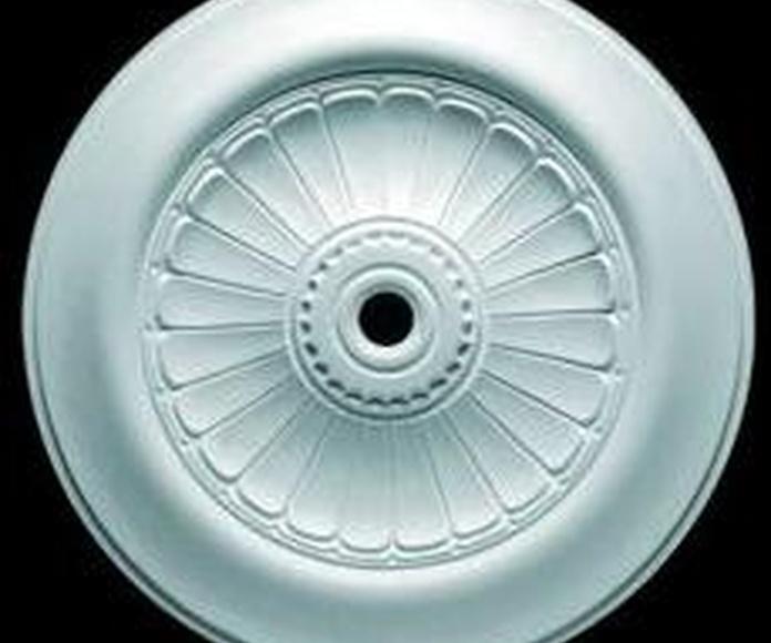 Florones y aros: Catálogo of Materiales de Construcción J. B.