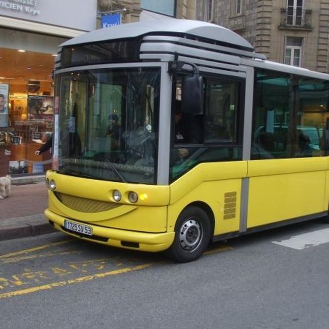 Contrata un microbús para trasladar a tus invitados