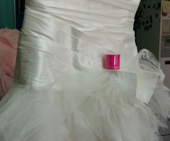 tint vestits de núvia