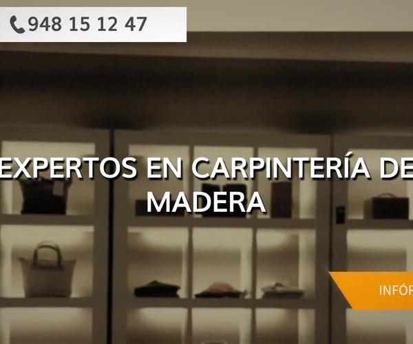 Carpintería de madera en Pamplona | Carpintería Orla