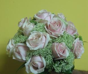 Bouquet de rosa envejecida