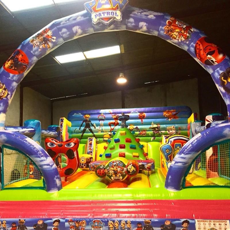 Castillo hinchable tobogán 1: Catálogo de Hinchables Happy Jump