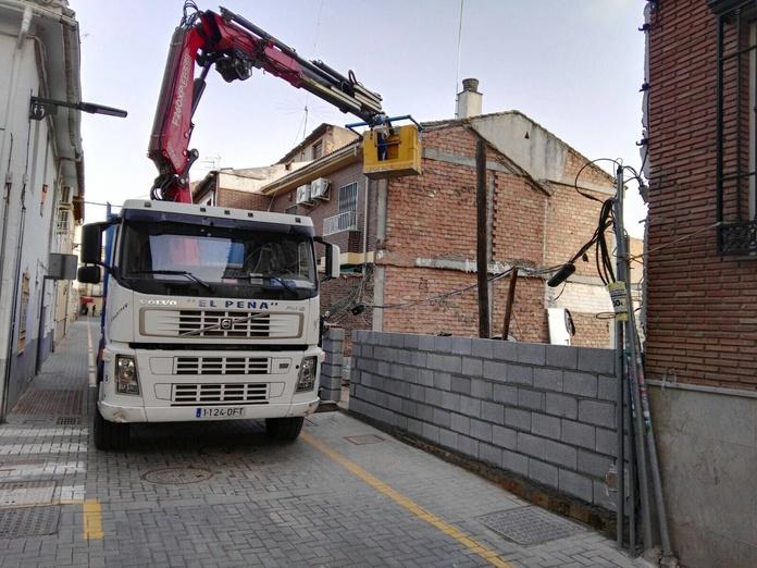 Excavaciones: Productos y servicios de Transportes Juan Aguilar - El Peña