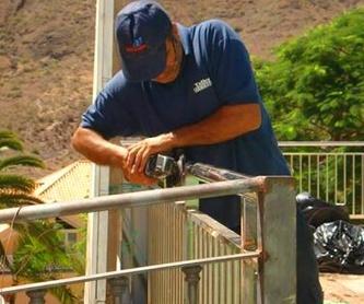 Barandillas: Trabajos y servicios de Talleres Sarmiento, S.L