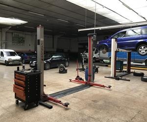 Mantenimiento de vehículos