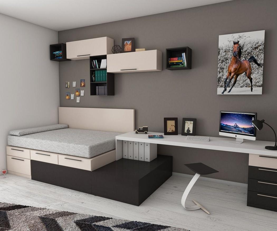 Los colores en dormitorios juveniles