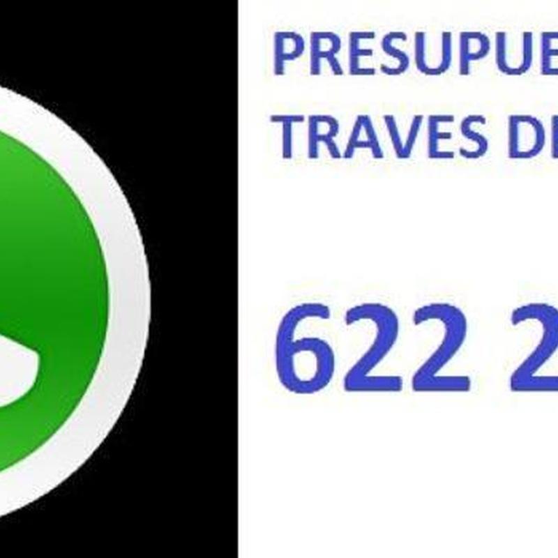 WHATSAPP 622223200 PIDE TU PRESUPUESTO.Rapidez y eficacia,Garantia !!: SERVICIOS  de Simmply