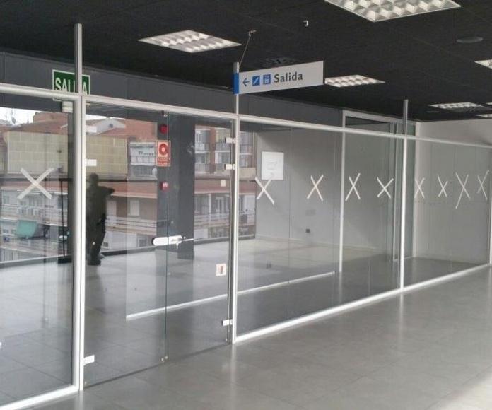 Mamparas de vidrio: Productos de Instalaciones Agustín Mateo