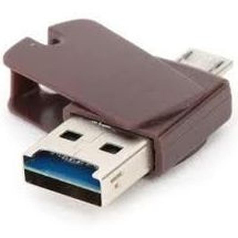 Platinet PMMSD16CR4 Lápiz USB+microSD+Lec.+OTG 16G : Productos y Servicios de Stylepc