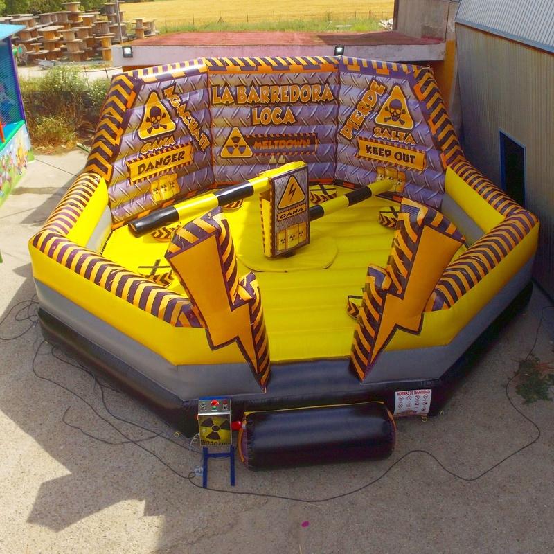 Eliminator octogonal Rayos: Catálogo de Hinchables Happy Jump