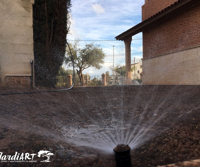 Instalación y reparación de sistemas de riego: Servicios de Jardiart