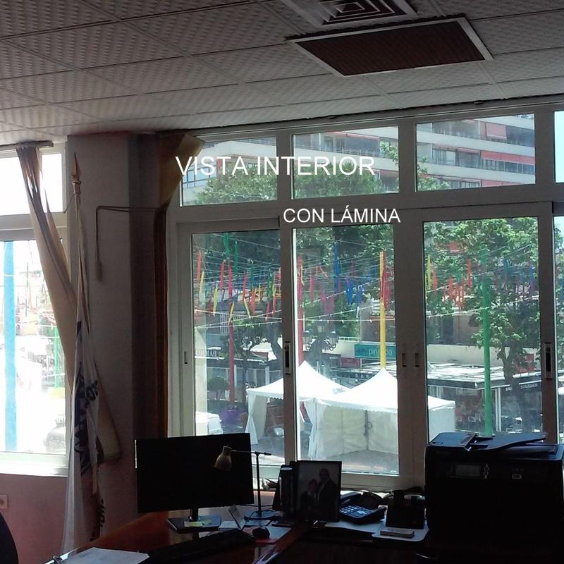 Laminado efecto espejo en Malaga