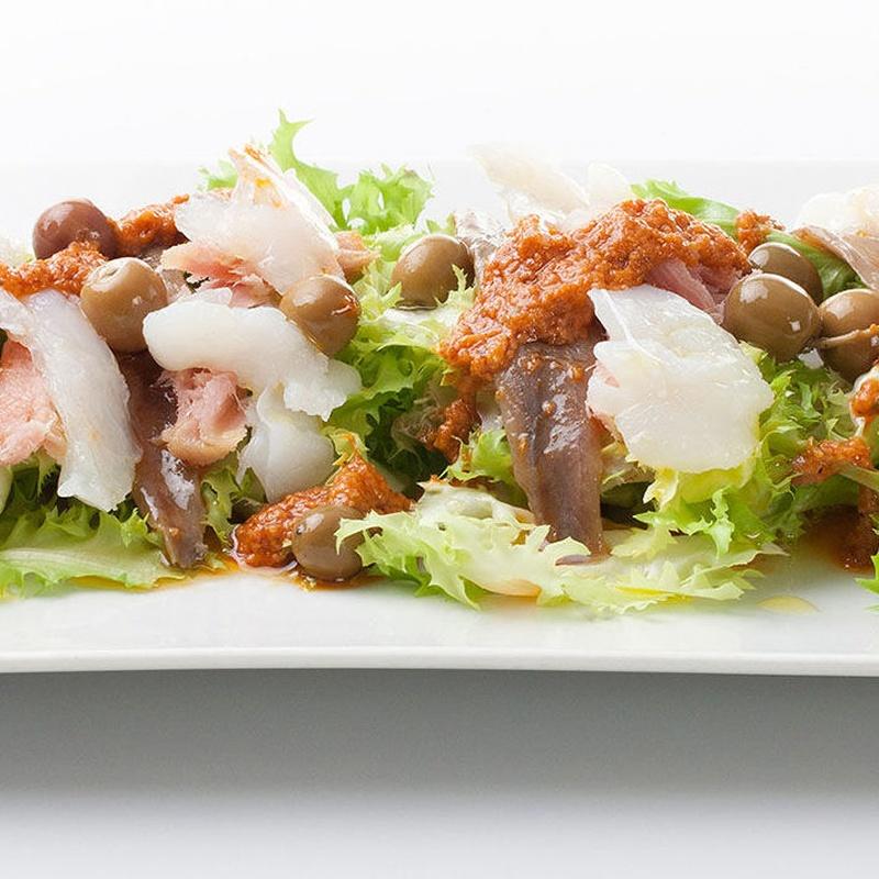 Menú cena Pica Pica: Carta y menús de Restaurant Ran de Mar (antiguo Ancora 2)
