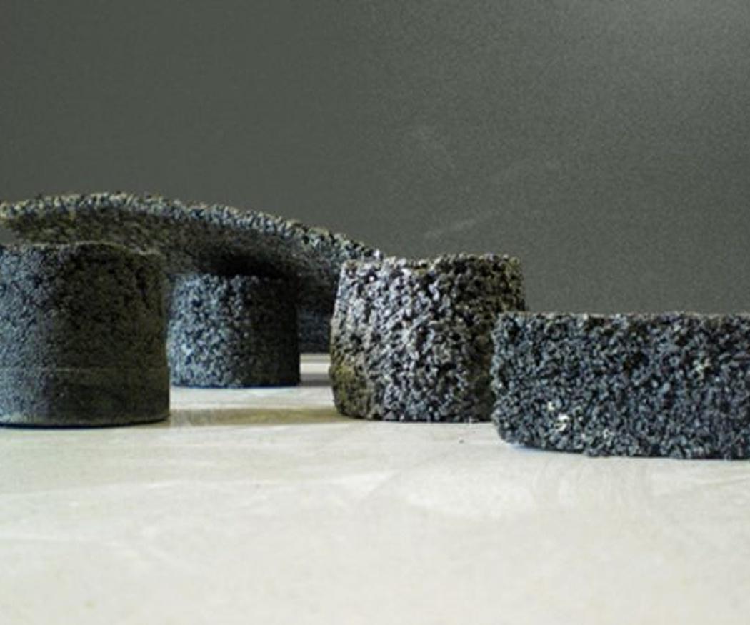 Varios modelos de pavimentos de caucho
