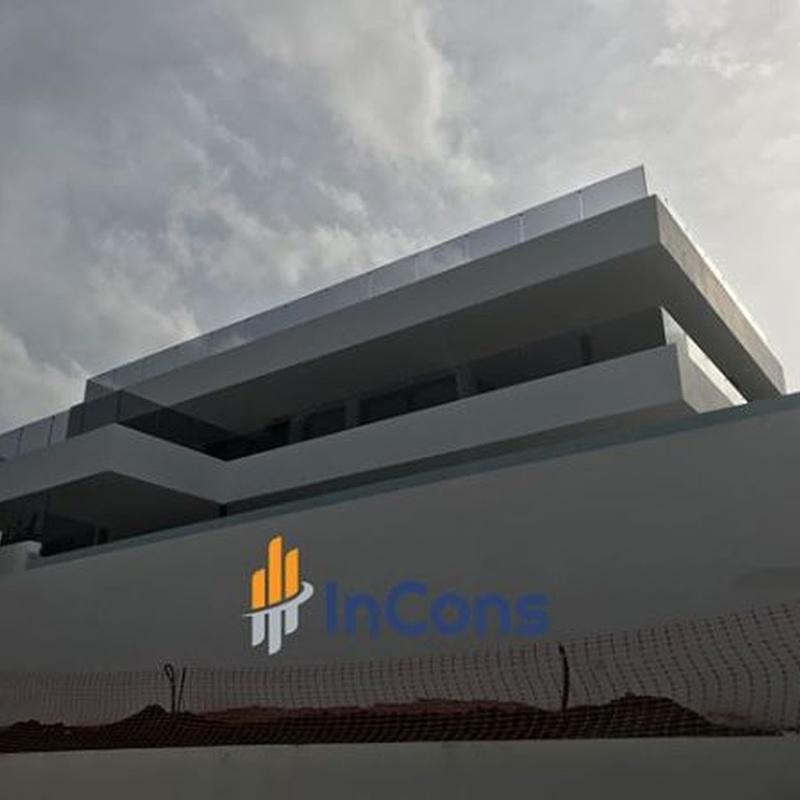 Obra nueva: Servicios de InCons Constructora