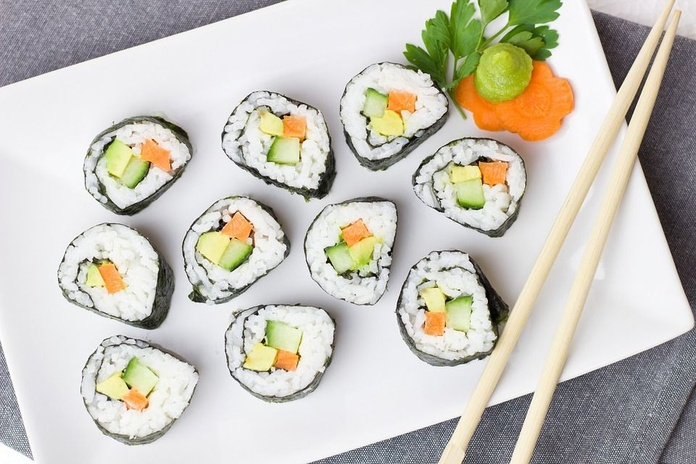 Sushi: Comidas para disfrutar de Guisando Comida para Llevar