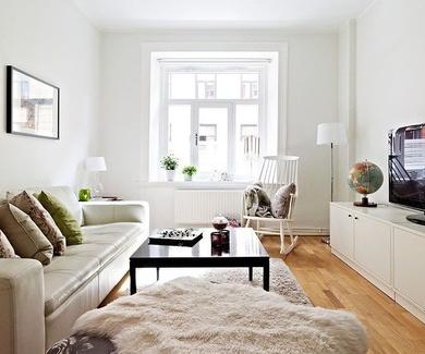 Con que color pintamos un piso pequeño?