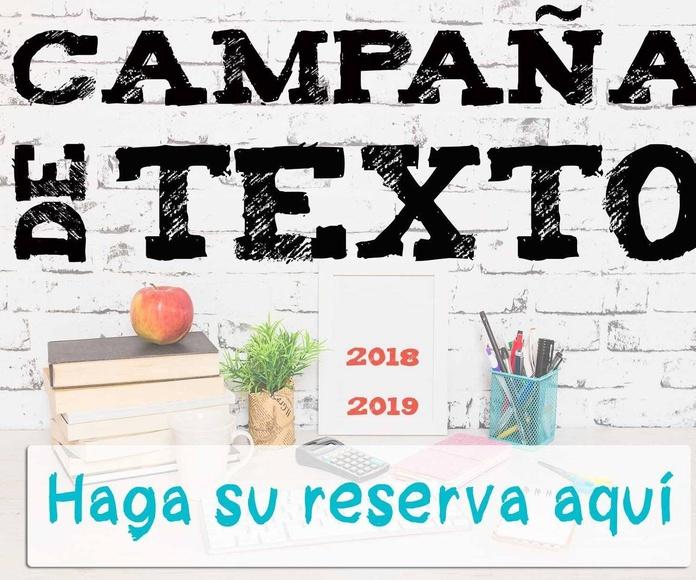 CAMPAÑA DE LIBROS ESCOLARES