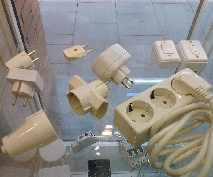 peque;o material electrico maxima calidad
