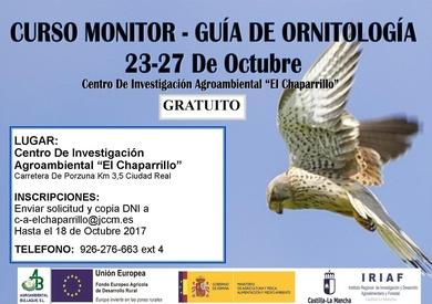 CURSO GRATUITO: MONITOR-GUÍA DE ORNITOLOGÍA (23-27 de Octubre)