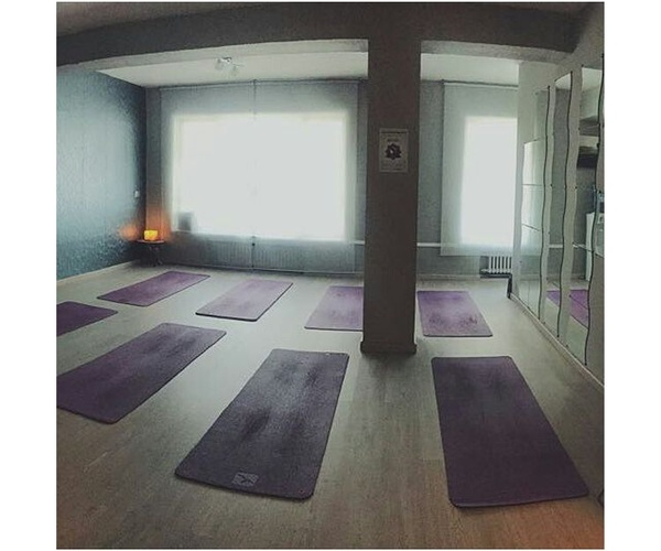Instalaciones del centro de yoga