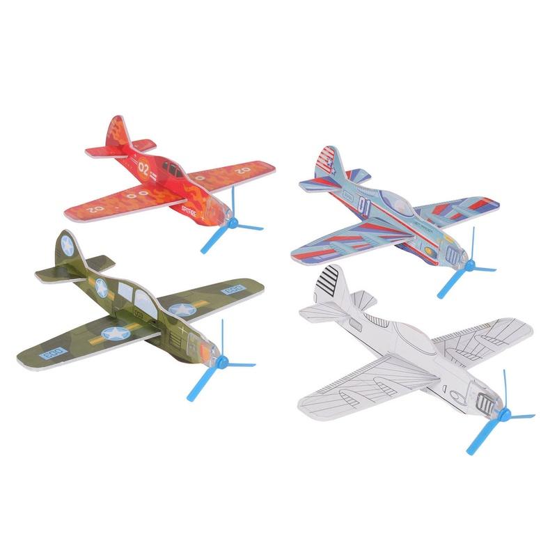 Diseña, construye y decora un avión. TIGER TRIBE
