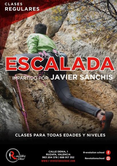 Clases de escalada:  de R-evolution School
