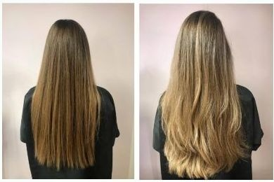 Rubios naturales con mechas Babylights