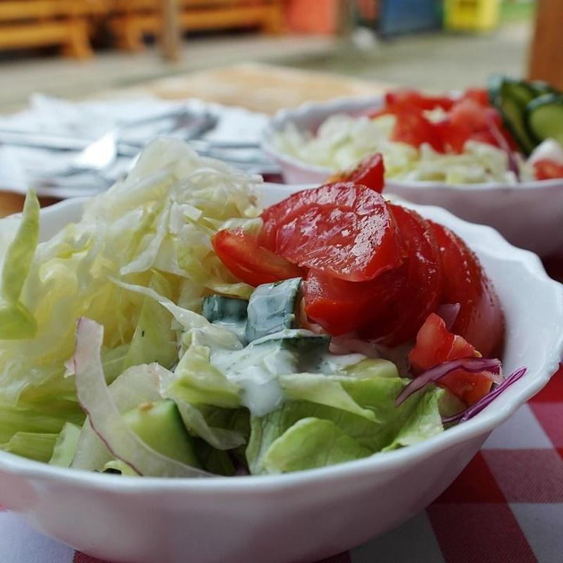 Verduras y ensaladas: Carta de Parrilla Muño Poniente