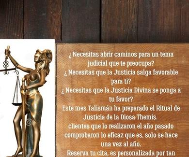 Ritual Diosa Themis Justicia