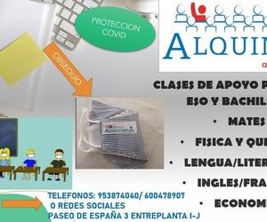CLASES DE APOYO PRIMARIA, ESO Y BACHILLER