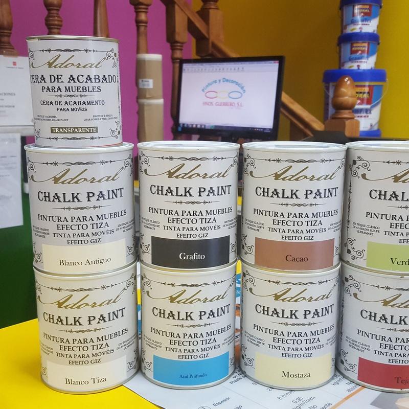 Chalk Paint: Servicios y productos de Hnos. Guerrero, S.L.