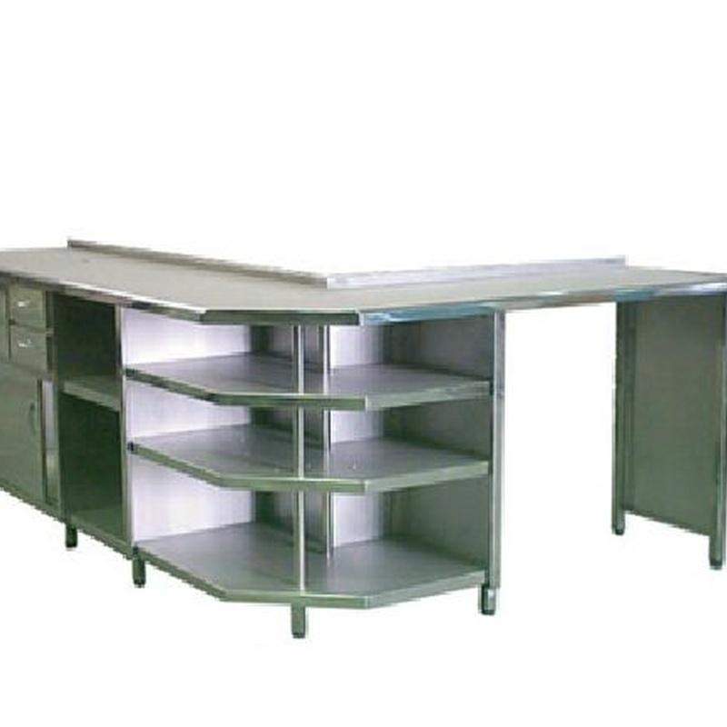Muebles de cafetera: Servicios de Metalistería Costa Cálida, S.L