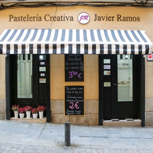 Creative pastry in Retiro, Madrid | Pastelería Creativa Javier Ramos