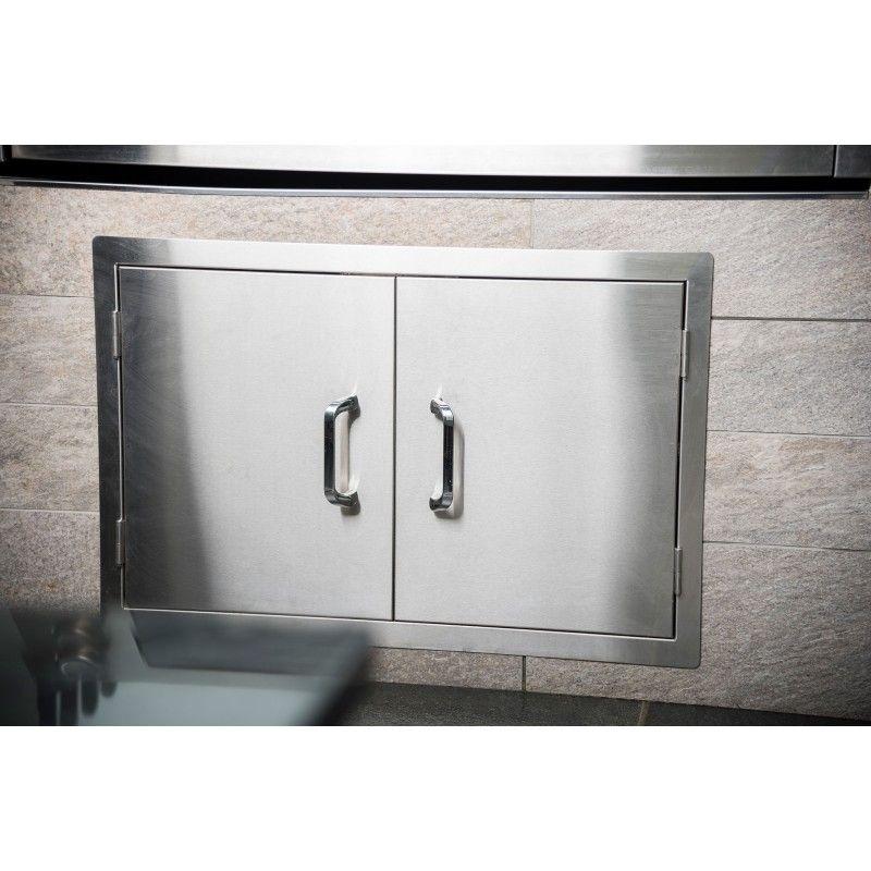 Set encastrable doble puerta inox: Productos y servicios de Mk Toldos
