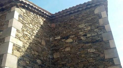 Construcciones en mampostería de piedra en la provincia de Segovia