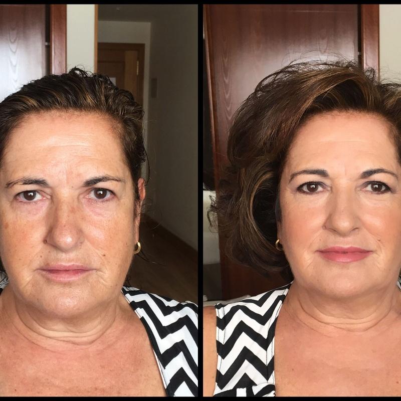 Natalia Ru Make up. Antes y después: Servicios de Natalia Ru Make Up