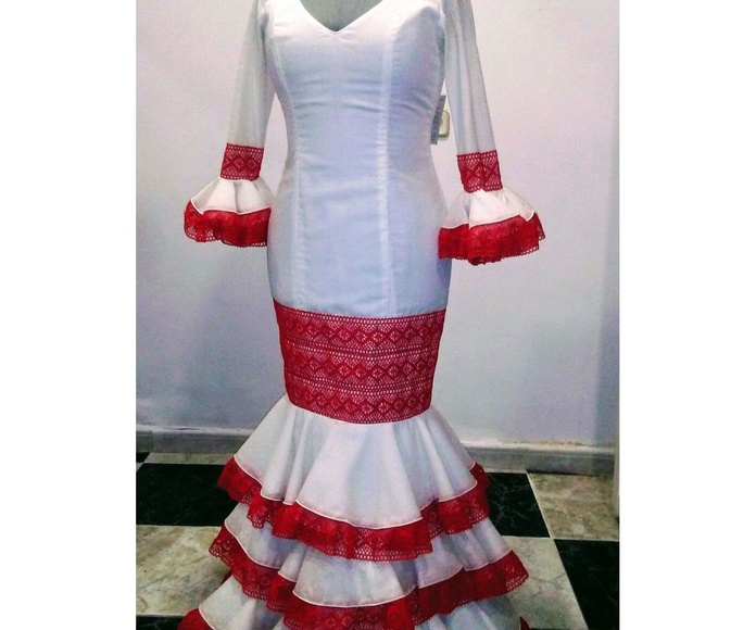 Vestido flamenco de feria