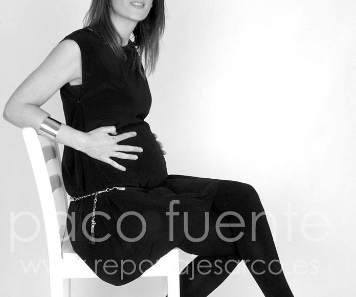 Fotografía de Estudio en Burgos. Premamá / embarazada