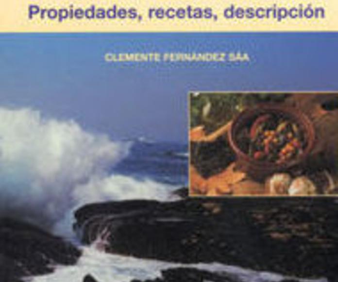LIBROS, Algas de Galicia y Recetas con algas, ALGAMAR: Catálogo de La Despensa Ecológica