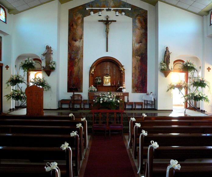 Decoración de Iglesia.