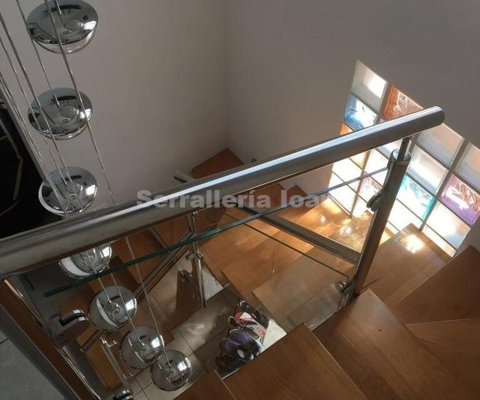Escalera interior: Productos y servicios de Serrallería Solé
