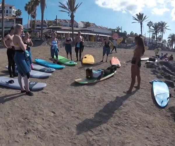 ¿Has practicado surf alguna vez?