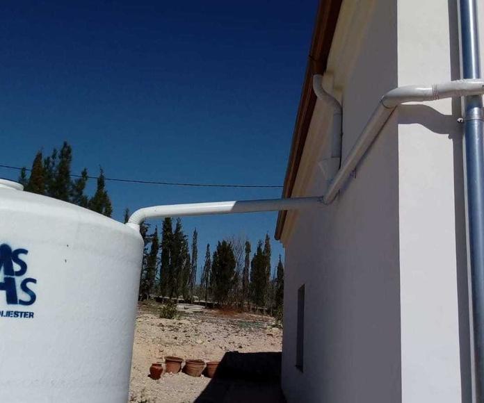 Instalación de canalón clásico