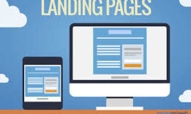 Landing Page o Página de Aterrizaje.