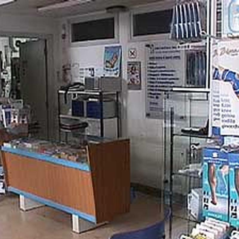 Tienda de Ortopedia : Productos y Servicios   de Ortopèdia Maza